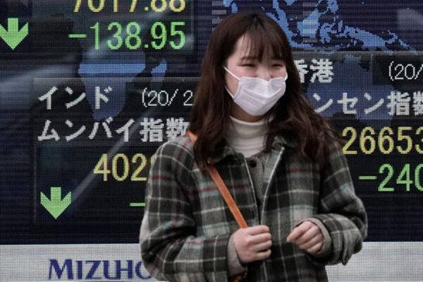 ادامه افت سهام آسیایی / سقوط ۲ درصدی سهام ژاپن