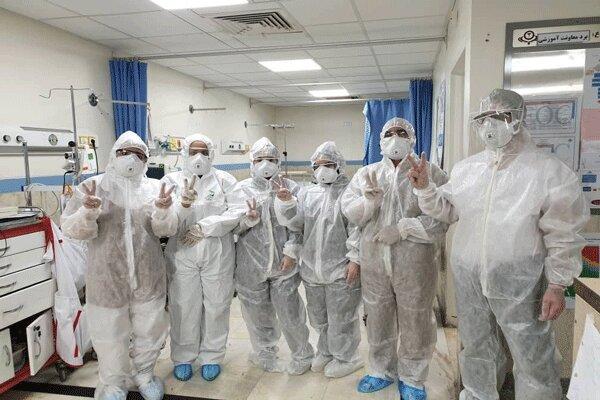 تلاش کادر پزشکی و پرستاری در مبارزه با کرونا ستودنی است