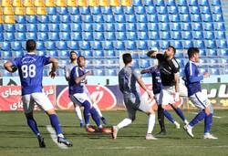 Gol Gohar Sirjan vs. Esteghlal football match
