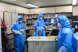 عملیات رفع آلودگی و گندزدایی در بیمارستان کامکار قم