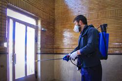 شہر کرد میں جراثیم کشی کا سلسلہ جاری