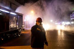 اہواز کے عمومی اور شہری علاقوں میں جراثیم کشی کی مہم جاری