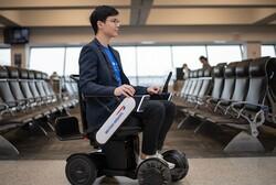 استفاده از ویلچرهای برقی خودران در فرودگاهها
