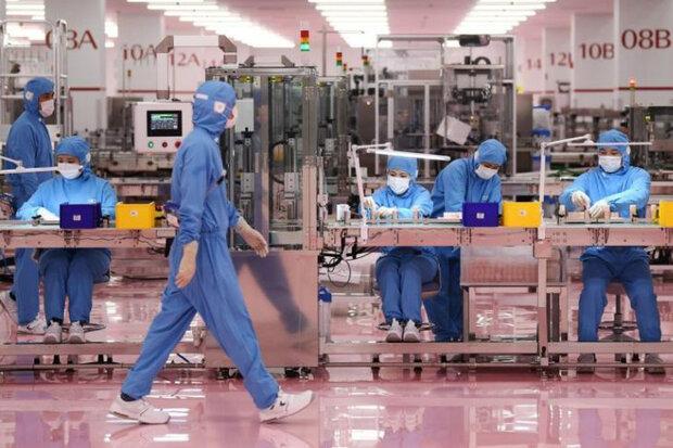 کندترین رشد فعالیت کارخانجات چین به ثبت رسید