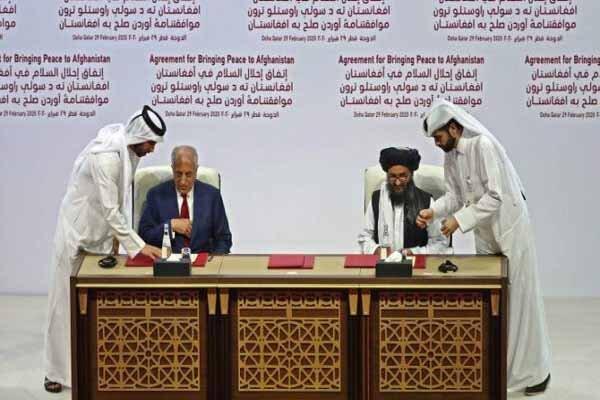امریکہ اور طالبان نے امن معاہدے پر دستخط کردیئے