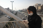 آلودگی هوای پایتخت برای پنجمین روز متوالی