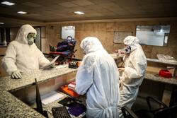 کورونا کا مقابلہ کرنے کے سلسلے میں ایمرجنسی ادارے کے اہلکار فرنٹ لائن پر مصروف