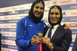 بانوی المپیکی کاراته طلایی شد/ پایان کار ایران با کسب دو طلا
