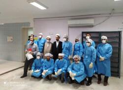 گیلان کے اسپتالوں میں طبی عملہ کے ساتھ طلاب کا تعاون