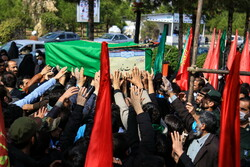 Funeral processions of 11 defenders of Holy Shrine