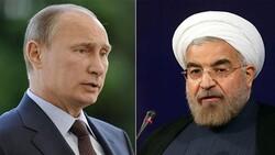 Rouhani, Putin