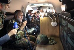 الجيش الايراني يشيّد مشفى جوال بخمسين سرير في مدينة قم