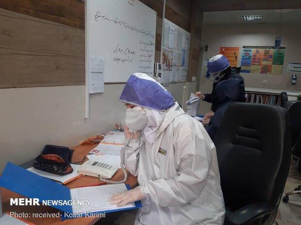 Special ward of 'coronavirus patients' in Razi Hospital of Ahvaz