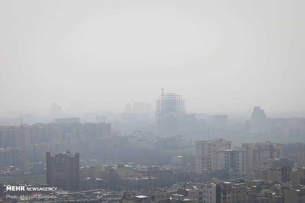 تداوم آلودگی هوای اراک / وضعیت  ناسالم هوا برای تمامی گروه ها