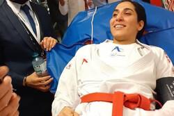 Iran karate star Hamideh Abbasali to undergo surgery in Germany