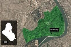 استهداف المنطقة الخضراء وسط بغداد بصاروخ كاتيوشا