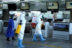 Imam Khomeini Airport takes safety measures against coronavirus