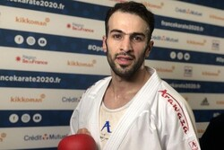 کاراته کا قزوینی نفر اول دنیا
