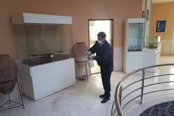 موزه شیروان ضدعفونی شد