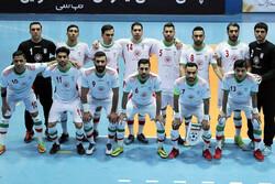 حضور تیم ملی فوتسال ایران در جامجهانی رسمی شد
