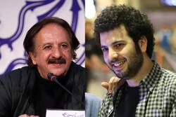 This combination photo shows Majid Majidi (L) and Saeid Rustai. (Photos by Fatemeh Rajezi and Reza Ahadzad)