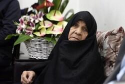 مادر شهیدان فهمیده به رحمت ایزدی پیوست