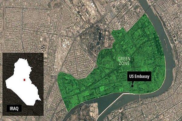 تعرض المنطقة الخضراء في العراق الى قصف بالصواريخ