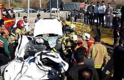 مرگ راننده جوان در تصادف خاوران