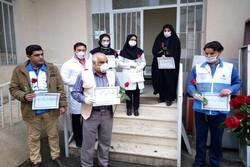 تقدیر فعالان فضای مجازی از خادمان سفیدپوش مقابله با کرونا در مشهد