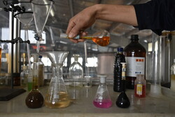 Medical alcohol production plant in Arak