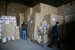 کشف ۴۶ میلیون دستکش در جنوب تهران