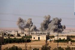 تبادل آتش سنگین میان ارتش سوریه و ترکیه/ جنگنده های روس مواضع تروریستها را بمباران کردند