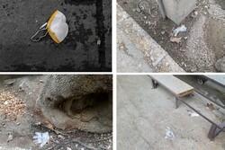 یک تن زباله کرونایی روزانه در ارومیه دفن میشود