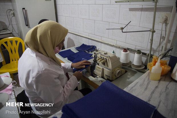 کارگاه مردمی تهیه و تولید ماسک
