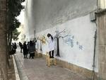 آغاز عملیات بازسازی نقاشیهای دیواری بزرگراه شهید تندگویان