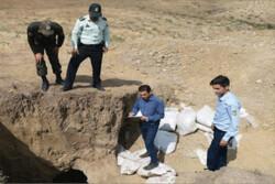 ۴ حفار غیر مجاز در روستای لوشکان دستگیر شدند
