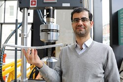 بتن تاشدنی بدون سیمان توسط محقق ایرانی تولید شد