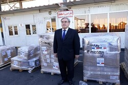 France delivers first aid consignment to Iran to fight coronavirus