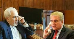 ایرانی وزیر خارجہ کی ٹیلیفون پر پاکستان اور ترکمنستان کے وزراء خارجہ سے گفتگو