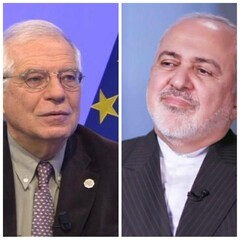 Iran's Zarif, EU's Borrell hold phone talk on IAEA's biased report