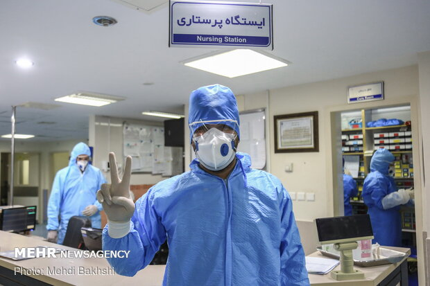 Special ward for COVID-19 treatment in Qom