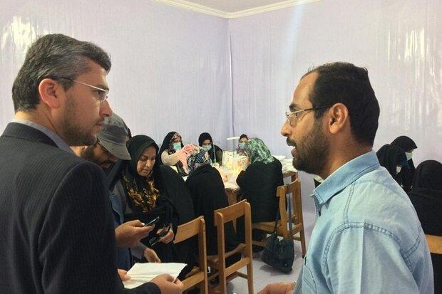 کارگاه جهادی تولید ماسک در دشتستان آغاز به کار کرد
