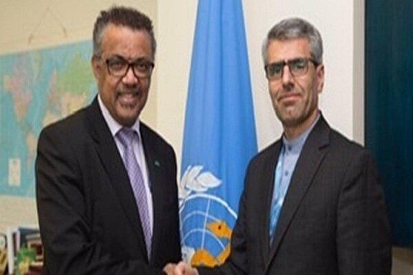 Iran, WHO stress intl. coop. to fight against coronavirus