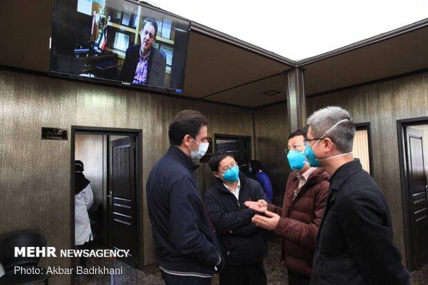 بازدید نمایندگان سازمان جهانی بهداشت از بیمارستان مسیح دانشوری و مرکز سلامت جامعه سیدالشهدا ازگل
