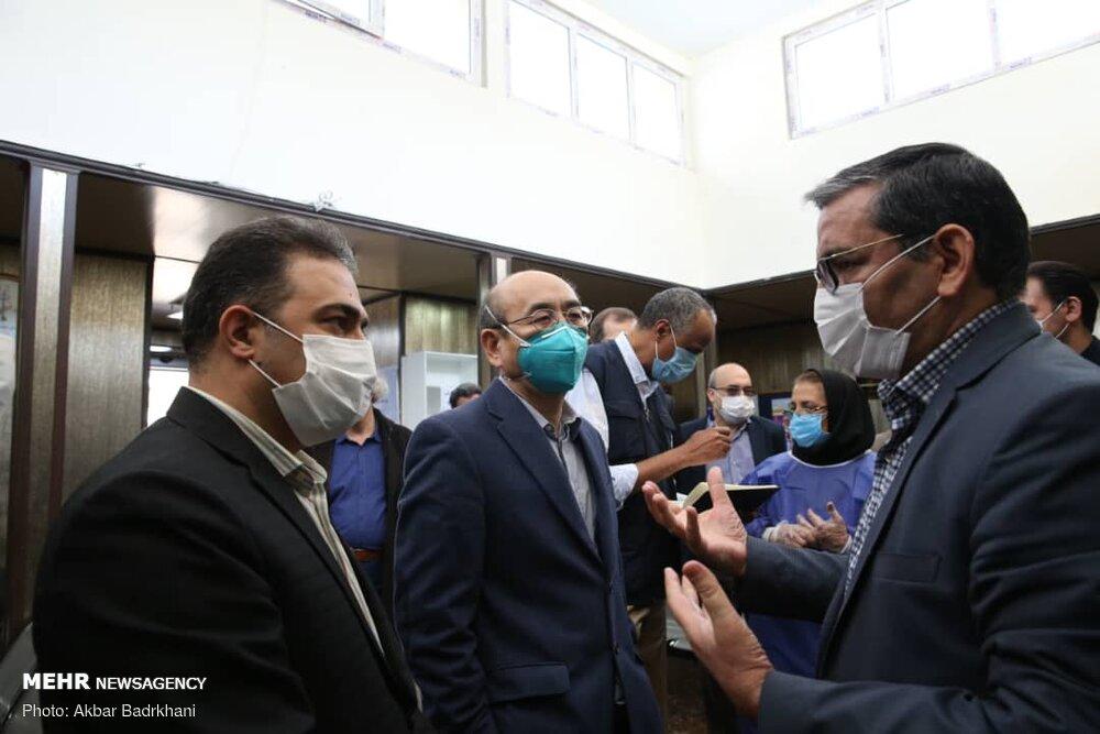 بازدید نمایندگان سازمان جهانی بهداشت از بیمارستان مسیح دانشوری