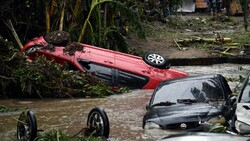 بارندگیهای سیل آسا در برزیل