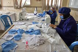 آغاز به کار کارگاههای تولید ماسک توسط بانوان بسیجی/ محلهها با کمک نیروهای بسیج ضد عفونی میشوند