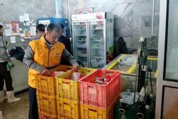 دستگاههای قطعهبندی واحدهای مرغ فروشی نهاوند جمعآوری میشود