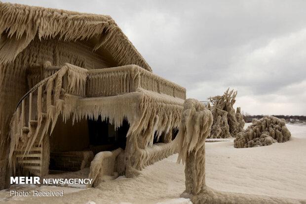 خانههای یخزده هامبورگ آمریکا