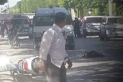 تیونس کے امریکی سفارت خانے کے قریب بم دھماکہ